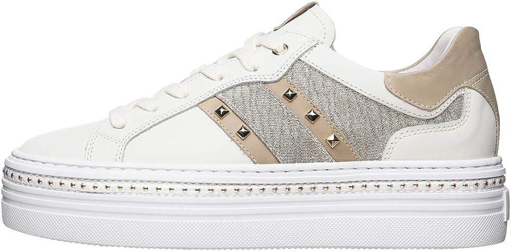 Nero giardini sneakers donna pelle E010865D 707