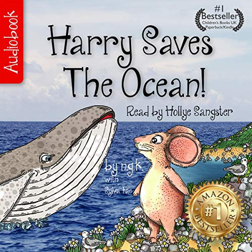 Harry Saves the Ocean audiobook cover art