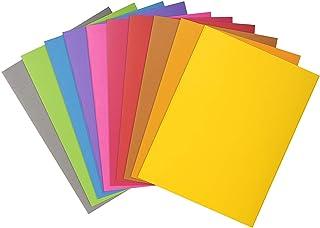 Exacompta - Réf. 800001E - Paquet de 100 sous-chemises ROCK''S 80 g/m2 aux couleurs vives - sous chemises certifiées PEFC...