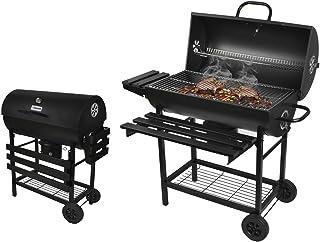 Kaminer 8056 Barbecue de jardin rond à charbon de bois avec