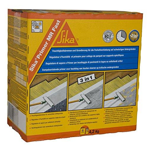 Primer und Feuchtigkeitsregler für Parkett – Sika Primer MR Fast – 4,2 kg
