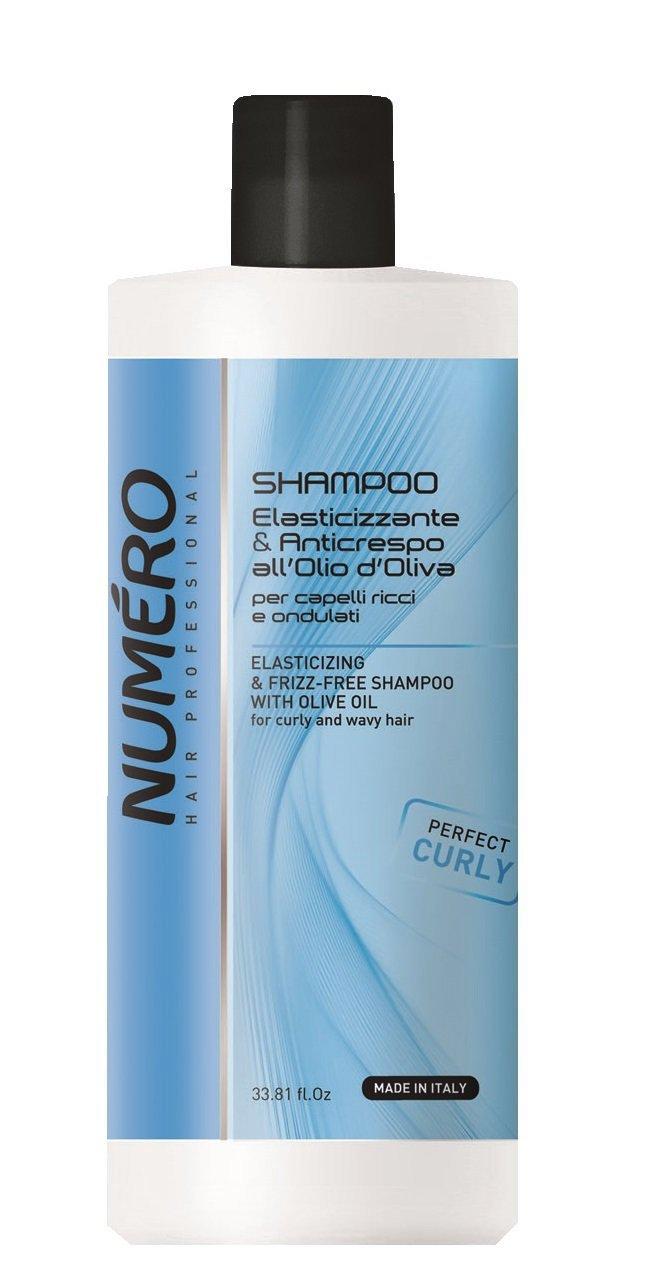 Brelil Numero Elasticizing Frizz-Free Shampoo f Oil with Olive 2021 new Direct store