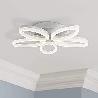 Modern Ceiling Light Flush Mount Fixture LED Warm White Bloom 21.5