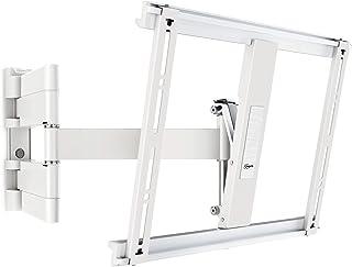 Vogels THIN 445 Blanco, Soporte de Pared para TV 26 - 55 Pulgadas, Inclinable y Giratorio 180º, Máx 18 kg y con sistema VE...