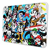 Toon Crew Commence Grand Summer Vacation Mi-CK-EY Souris Rectangle Anti-Slip Rubber Mousepad Gaming Mouse Pad 8.3 X 10.3 in