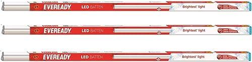 Eveready 20-Watt LED Batten (Pack of 3, White)