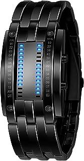 Reloj electrónico binario TXG, Reloj para hombre, Reloj LED