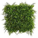 Nearly Natural Lush Mediterranean Artificial Fern Wall Panel, 20' x 20'