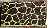 PRORIDER Horse Wool Western Show Trail Saddle Blanket Rodeo Pad Rug Lime Green 3671Con