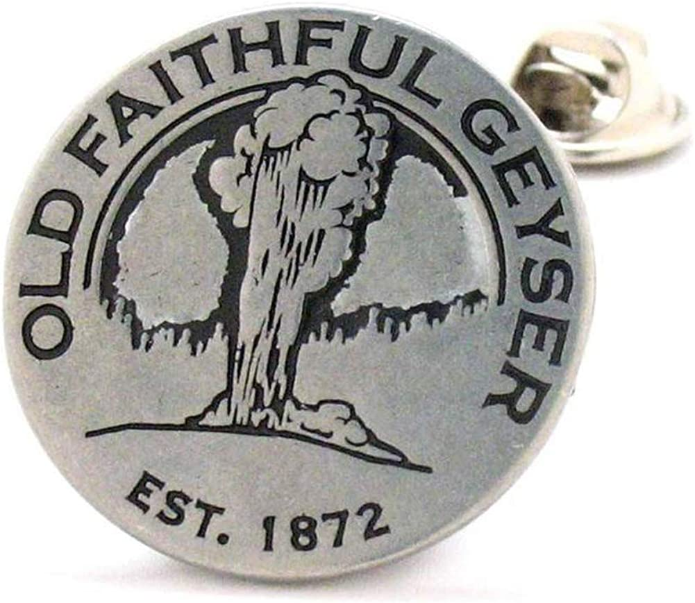 Williams and Clark Enamel Dedication Pin Famous Manufacturer OFFicial shop Yellowstone Lapel World