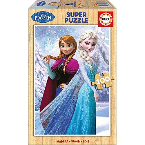 Puzzles Educa - Puzzle con diseño Frozen, 100 Piezas (16373)
