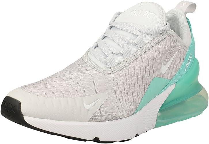 Nike Scarpe Air Max 270 (GS) Argento/Bianco/Verde Formato: 36 ...