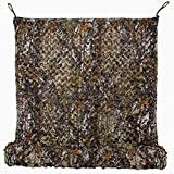 Tongcamo 190T Binoic Camo Netting Camouflage Net Hunting Blinds for Hunting, Sunshade, Decoration, Fence, Party