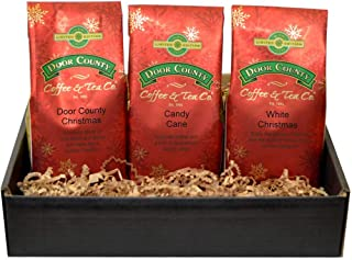 Door County Coffee Best Sellers, Holiday Trio Gift Set