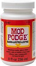 Mod Podge CS11201 Waterbase Sealer, Glue & Decoupage Finish, 8 oz, Gloss, 8 Fl Oz