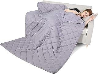 Qusleep Diamond Weighted Blanket - 60''80''20LB - Calm, Sleep Better Relax Naturally. Multiple Sizes Adult Kids, Cotton, G...