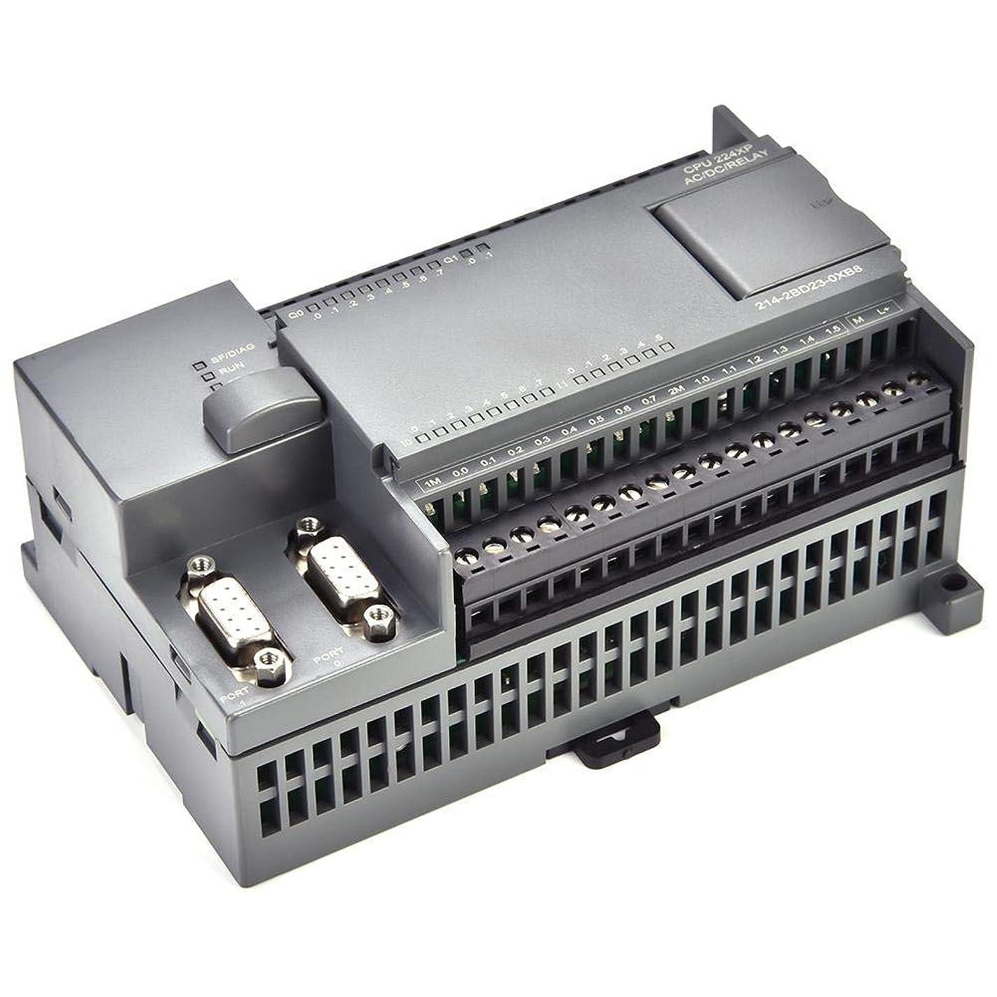 大惨事菊間違っているZWH-ZWH プログラマブルロジックコントローラ、220V PLC S7-200 CPU224XPリレー出力プログラマブルロジックコントローラ産業用制御ボードPLCリレー 電気板