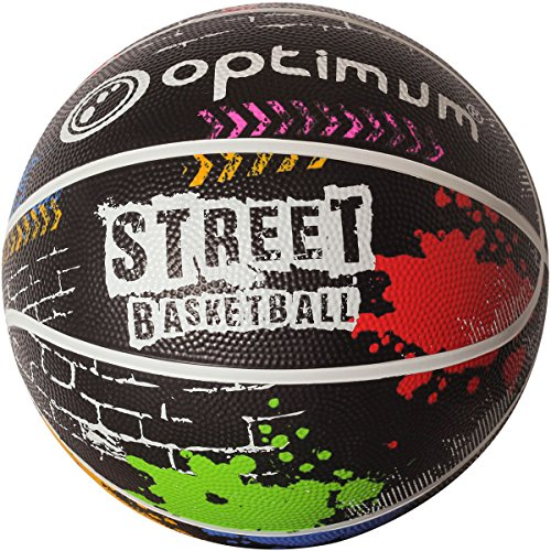 OPTIMUM Unisex – Erwachsene Graffiti Basketball Street, Mini