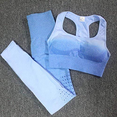 Conjunto de entrenamiento de 2 piezas Conjunto de yoga sin costuras para mujer Ropa deportiva para mujer Ropa de fitness Ropa de fitness Leggings de fitness Traje deportivoConjunto naranja rojo