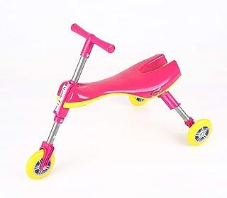 دراجة سكوتر للاطفال ثلاثية العجلات قابلة للطي بتصميم فرس النبي