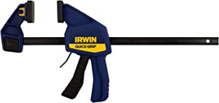 IRWIN QUICK-GRIP Bar Clamp, One-Handed, Medium-Duty, 12-Inch (1964718)
