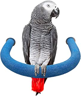 LiMio Bird Perch for Parakeets, Parrot Toys Stands for Conures, Supplies for Small Medium Birds