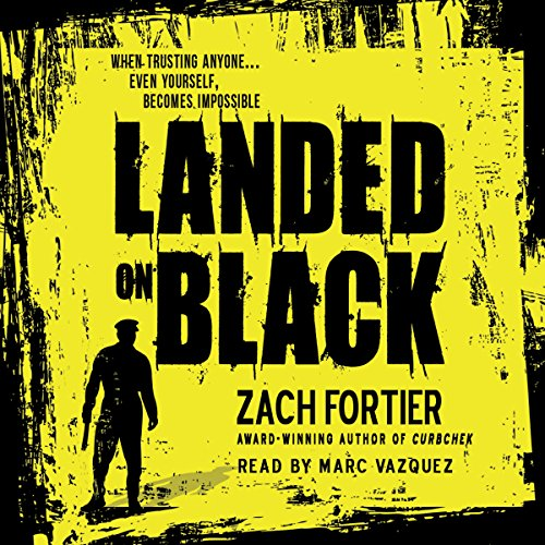 Landed on Black audiobook cover art