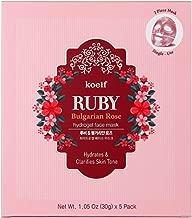 Koelf Ruby Bulgarian Rose Hydro Gel Mask Pack 5sheets