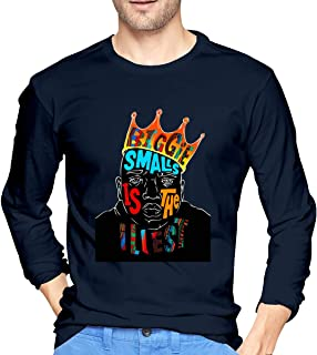 Biggie Smalls Men Comfortable Long Sleeve T Shirts