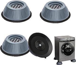 Tampons À Pied Machine À Laver 4 Pièces Coussinets De Pied De Machine à Laver Anti Vibration Rondelle Pieds Pad Anti-vibra...