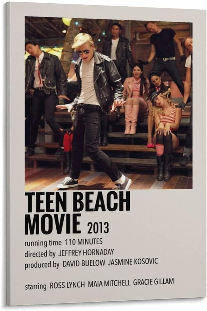 LinQZ Wall Art Inexpensive Pop Movie Beach M Fashion Teen Decor Asethetics