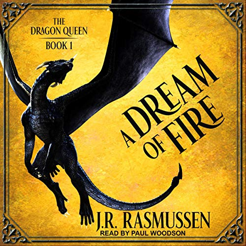 A Dream of Fire audiobook cover art