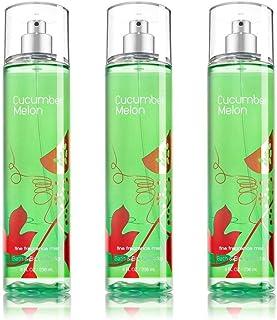 Bath & Body Works Cucumber Melon Fragrance Mist Set of 3 Full Size