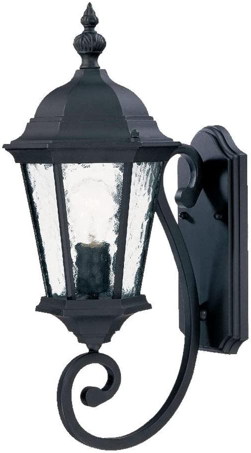 Directly managed Super sale store Acclaim 5501BK Telfair Collection 1-Light Outdoor Mount Wall Lig
