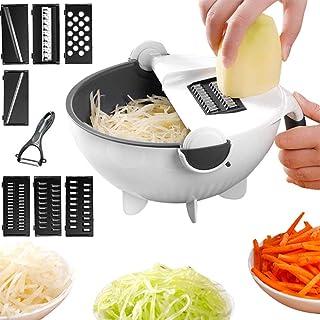 ZJZ Hachoir à légumes, trancheuse professionnelle multi-usage, sûr et durable