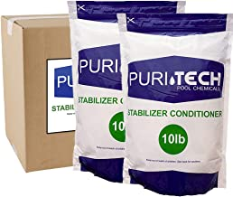 Puri Tech 20 lbs Stabilizer Conditioner Cyanuric Acid UV Protection for Swimming Pools and Spas