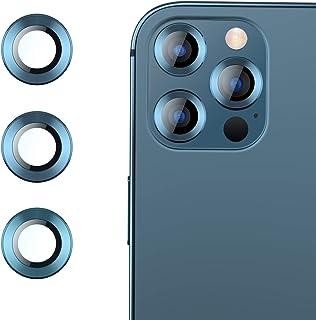 RIWNNI Pellicola Fotocamera Compatibile con iPhone 12 Pro Max [2 Pezzi], Alta Definizione Lente Fotocamera Pellicola Prote...