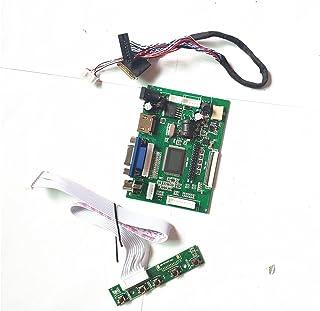 Passar LTN156AT32-401/701/L01/T01/W01/W02 2AV HDMI-kompatibel VGA 15.6 40-stifts LVDS LED LCD 1366 x 768 kontroll (LTN156A...