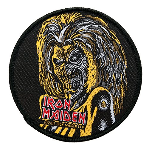 Unbekannt Iron Maiden Patch/parche – Killers Face Round – Iron Maiden parche.