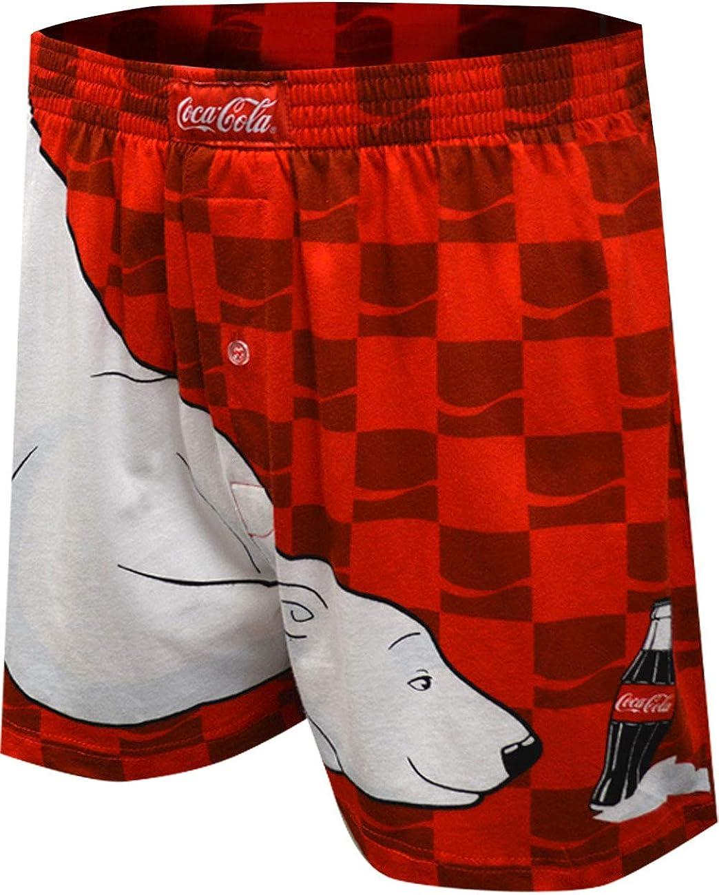 MJC Men's Coca Cola Bear Always Cool Boxer Shorts