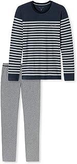 Marc O'Polo Body & Beach M-loungeset LS Crew-Neck Pijama, Azul (Nachtblau 804), XX-Large (Pack de 2) para Hombre