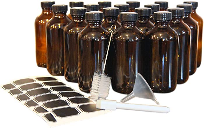 The Best Food Grade Amber Plastic Bottles 8 Oz