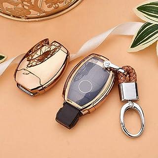 Cuir Clé Cover Mercedes-Benz Clés CORDON CUIR C E SL GLS SLC classe