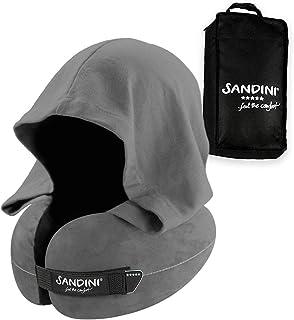 SANDINI Travelfix Regular Size – Premium Coussin de Voyage avec Lien de..