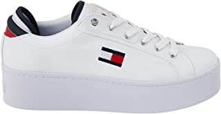 Tommy Jeans FLATFORM TOMMY JEANS, Women's Sneakers, White