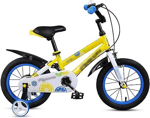 buena calidad Bicicletas para Niños Feifei Cochecito 14 16 16 16 Pulgadas Mountain Bike Asiento de Manillar Ajustable amarillo rojo (Color   amarillo, Tamaño   14 Inches)  envío gratuito a nivel mundial
