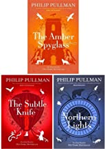 His Dark Materials Trilogy 3 Books Collection Set by Philip Pullman (Northern Lights, The Subtle Knife, The Amber Spyglas)