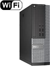 DELL OPTIPLEX 7020 Slim Business Desktop Computer Small Form Factor (SFF), Intel Quad-Core i5-4570 Up to 3.6GHz, 8GB RAM, 2TB HDD , DVD, WiFi, VGA, USB3.0, Windows 10 Pro(Renewed)