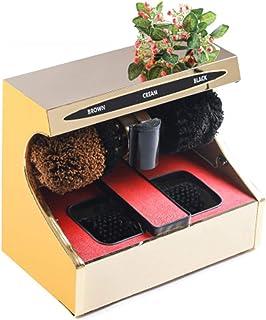 Polador de zapatos eléctricos, tratamiento de eliminación de polvo de inducción automática Zapatos de limpieza de zapatos ...
