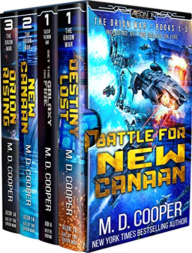 Battle for New Canaan - The Orion War Books 1-3 (The Orion War Collection Book 1)